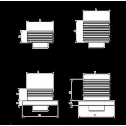 Insertos DURMAK Arnold MB2 para Mordazas de Alta Presión