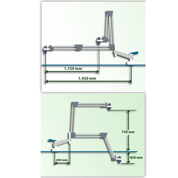 Roscadora Pneumática Gamor GN20 (M4-M20)