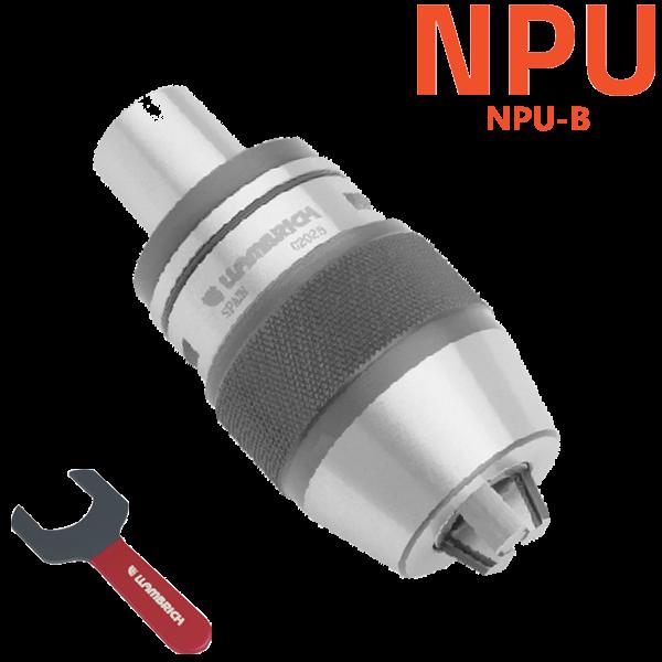 Portabrocas automáticos NPU-B con cono integrado para máquinas CNC y fresadoras Llambrich