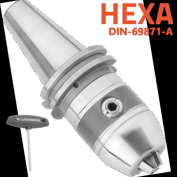 Portabrocas Llambrich HEXA-SYSTEM SK de autoapriete de presición con cono integrado