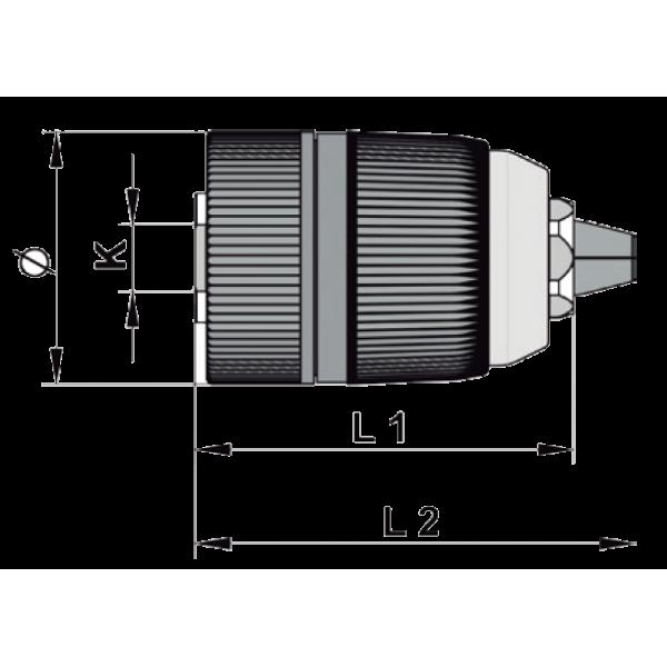 Portabrocas Modelo CPL Llambrich (CHUCK) sin llave para Taladros Portátiles