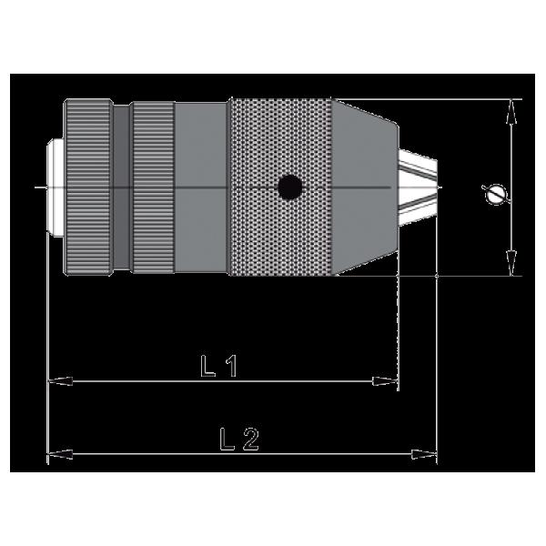 Portabrocas automáticos Modelo CKX Llambrich (CHUCK) para taladrospara Taladros de Percusión