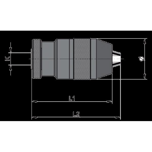 Portabrocas automáticos Modelo CKS Llambrich (CHUCK) para taladros portátiles y estacionarios