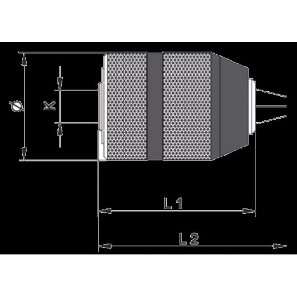 Portabrocas CPM Llambrich (CHUCK) sin llave con cuerpo de METAL, para Taladros Portátiles