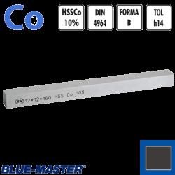 Cuchillas Cuadradas de Cobalto 10% Para Torno DIN4964 Forma B