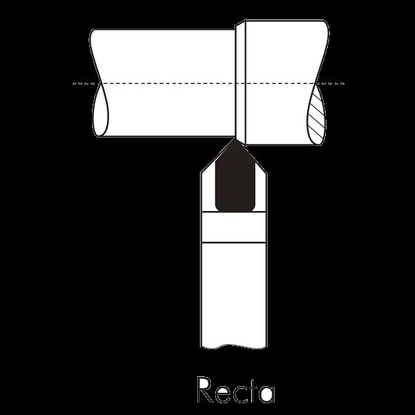 Portaherramientas Soldadas de Widia ISO 10 180º para Torneado Exterior