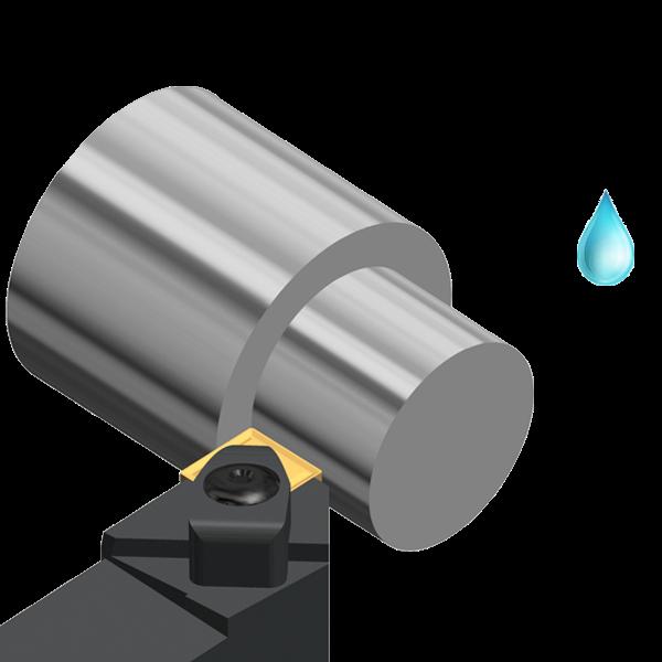 Turning Holder DCLN 95º External for General Applications
