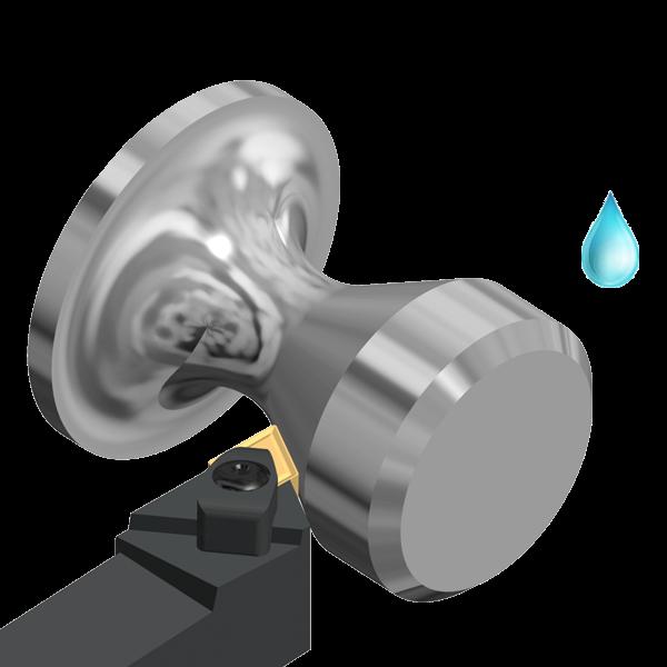 Turning Holder DDJN 93º External for General Applications