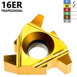 Placas de Roscado 16ER Trapezoidales (1,5-3,0) Recubrimiento TIN