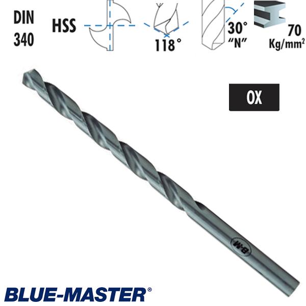 Broca Blue-Master DIN340 HSS Serie Larga