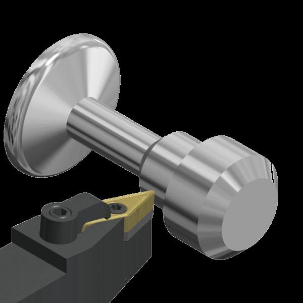 Porta Herramientas de Torno MVVN-K 72º30' Exterior Aplicaciones Copiado