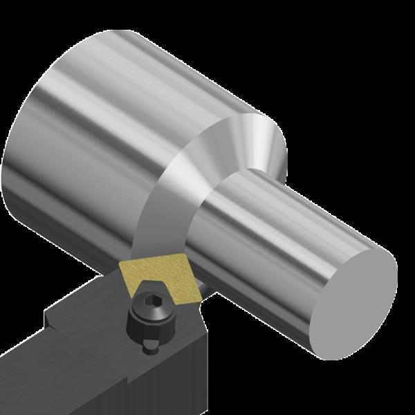 Porta Herramientas de Torno CSTP 60º Exterior Aplicaciones Generales