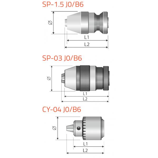 Portabrocas para micro-taladro Llambrich MICRO DRILL