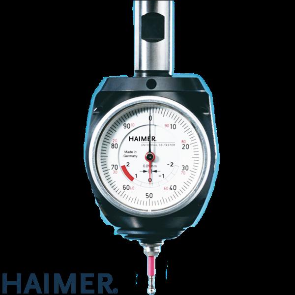 Palpador Haimer 3D Universal con mango de sujección de Ø 20 mm incl. punta corta Ø 4 mm