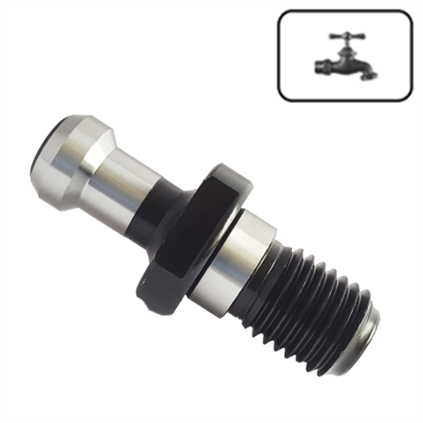 BT50 (45º) Coolant Pull Stud for Collet Chuck
