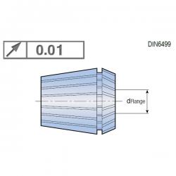 Pinzas de Sujección tipo ER40 Ultra Precision 0,01, con capacidad 1mm