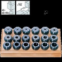 Set de Pinzas ER40 (3-26) 23 Piezas, Ultra Precision 0,005