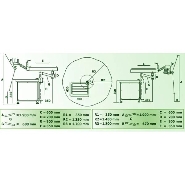 Hydraulic Tapping Machine Vertical/Horizontal Gamor MT-M45 (M3-M45)