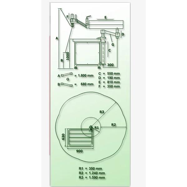 Hydraulic Tapping Machine Vertical/Horizontal Gamor RHG-M45 (M2-M45)