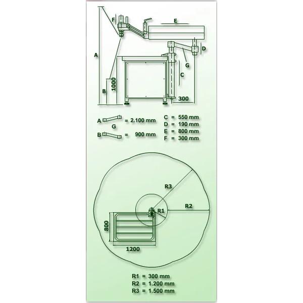 ROSCADORA HIDRÁULICA VITORIA RHG-M110 (M3-M110) VERTICAL