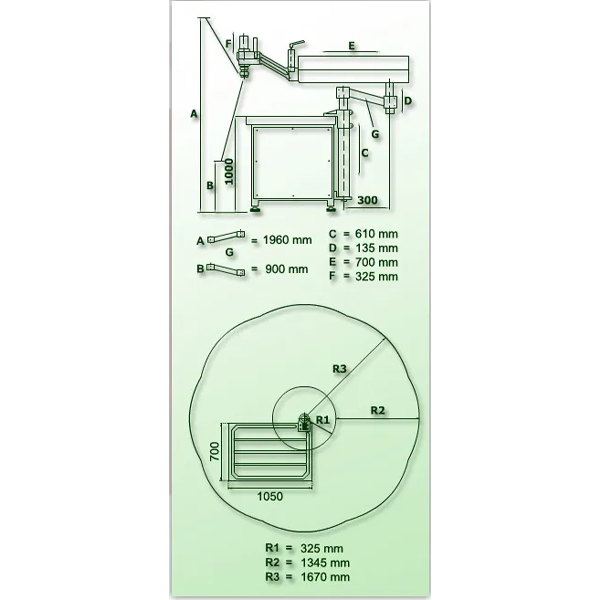 ROSCADORA HIDRÁULICA / Machueladora RHG-M60 (M3-M60)