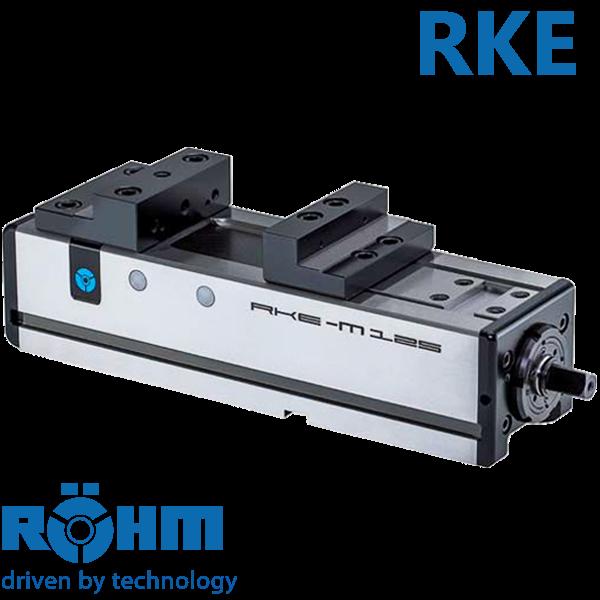 Mordaza Röhm RKE mecánica e hidráulica para centros de mecanizado
