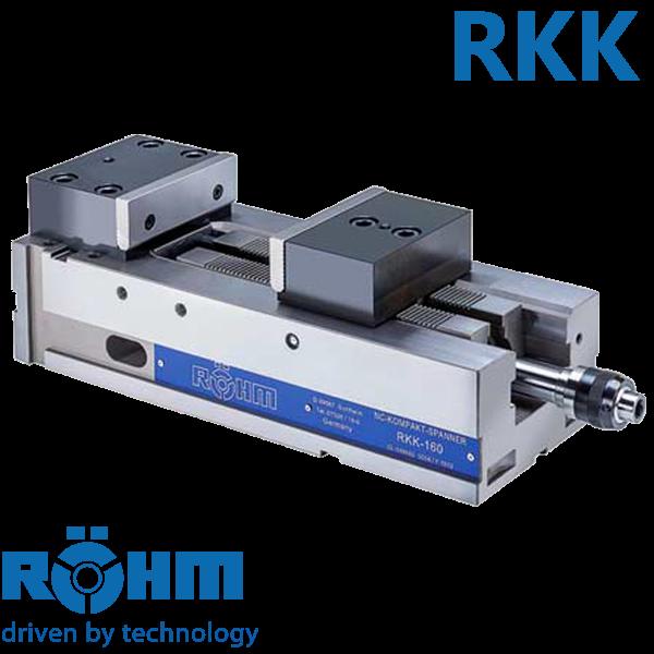 Mordaza Röhm RKK mecánica e hidráulica para centros de mecanizado