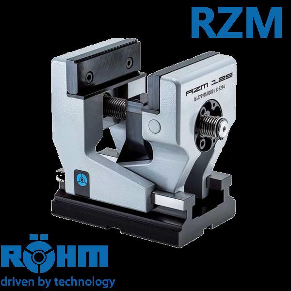 Mordaza Röhm RZM mecánica e hidráulica para centros de mecanizado