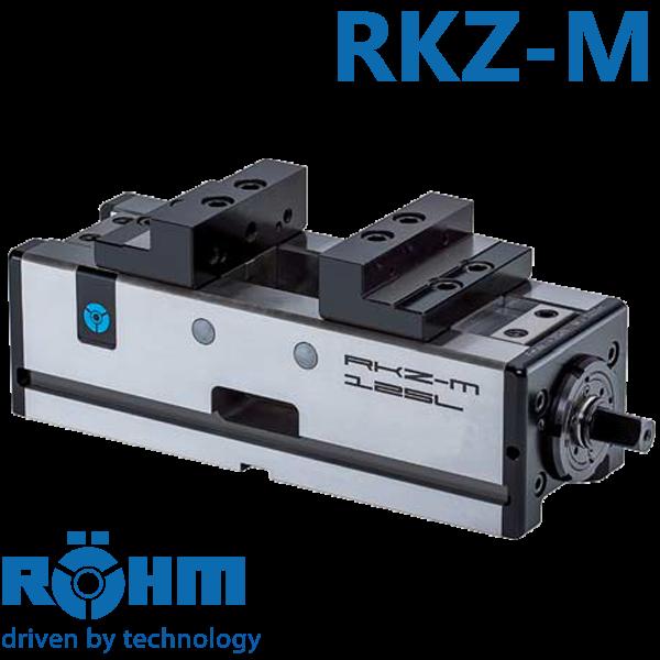 Mordaza Röhm RKZ-M mecánica e hidráulica para centros de mecanizado