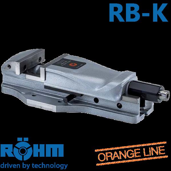 Mordaza Röhm RB-K mecánicas con multiplicador de fuerza para uso universal CN