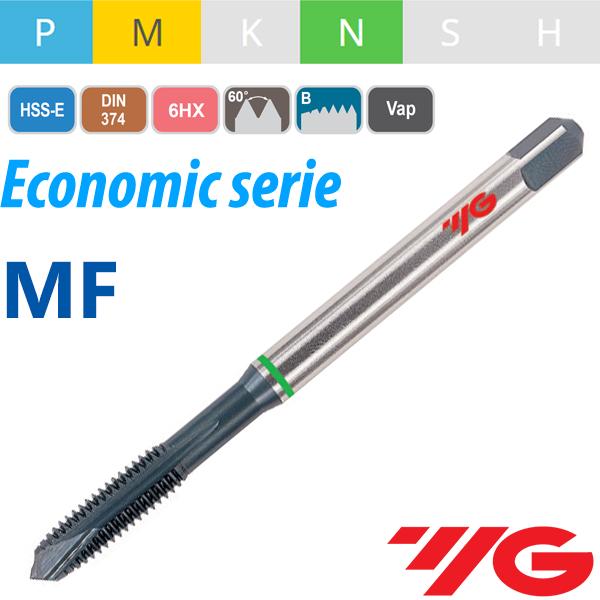 Straigh Flute Machine Tap Metric Fine Thread HSSE Steam Tempered YG1