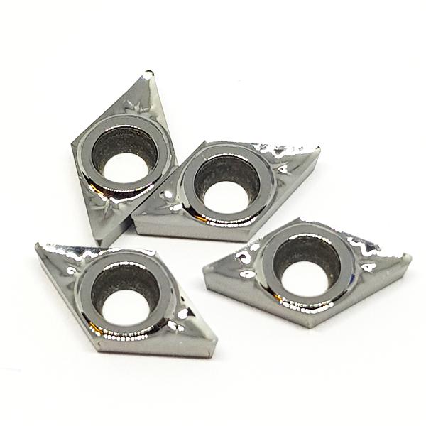 Korloy DCGT0702..-AK H01 Positive Aluminum Turning Insert