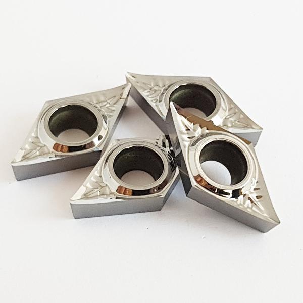 Korloy DCGT11T3..-AK H01 Positive Aluminum Turning Insert