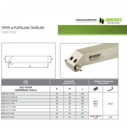 Portaherramientas de centrado CNC SMOXH CCT