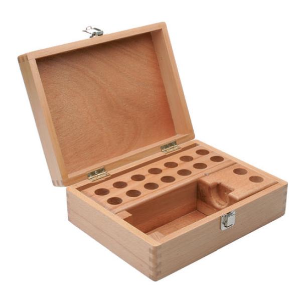 Caja Vacia de Madera para pinzas ER DIN6499 y Cono