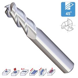 Z3 - 3 Flutes Aluminium