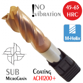 Anti-vibration Solid Carbide