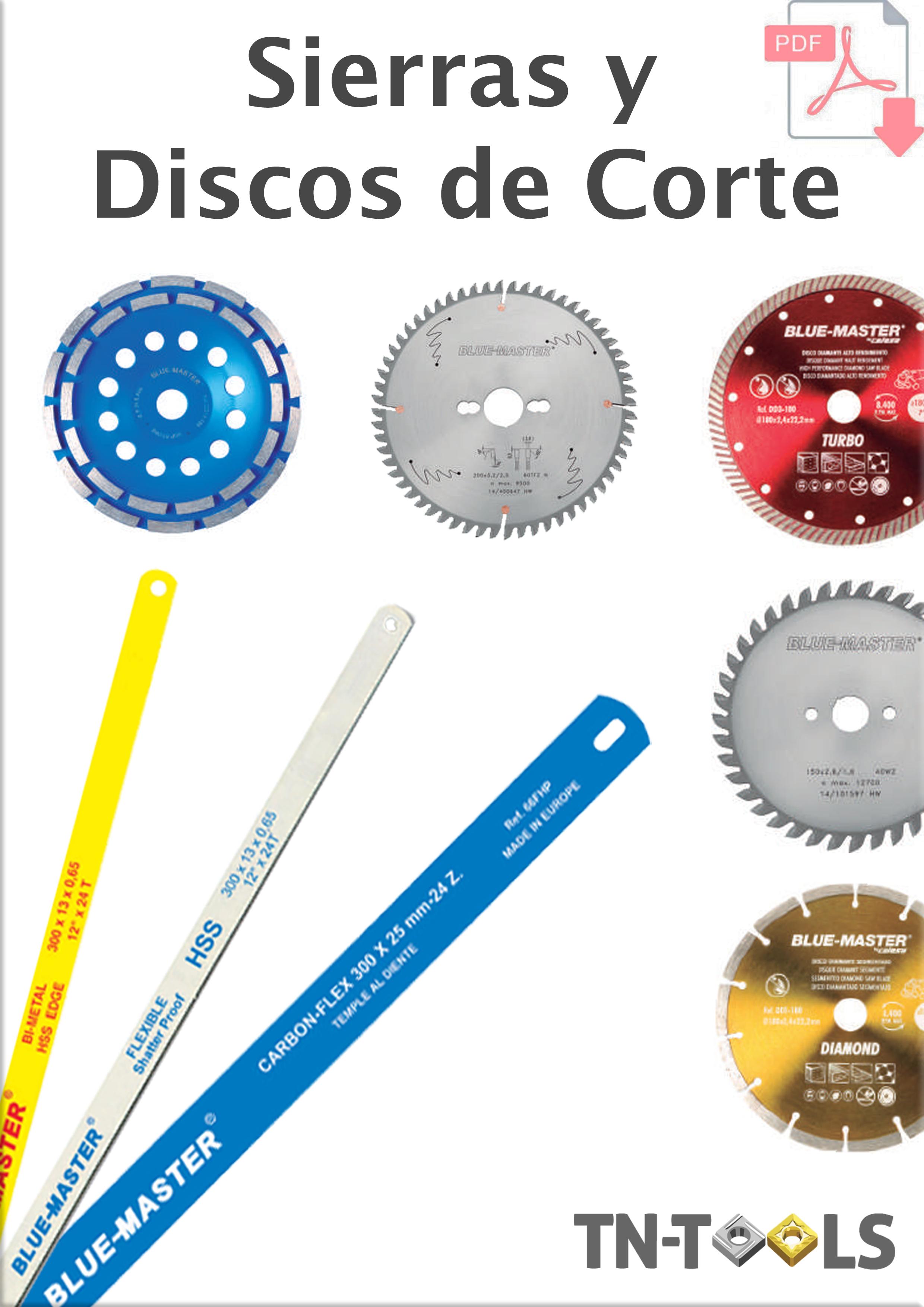 Catálogo de Sierras/Discos con Precios